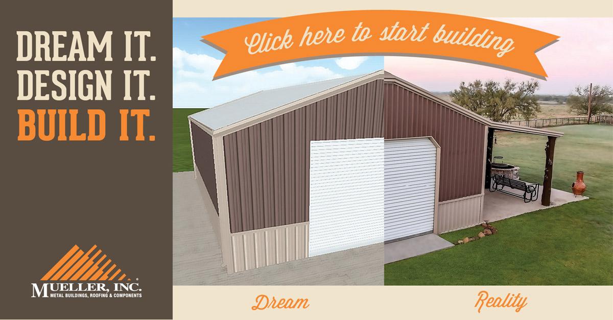 3D Steel Building Design tool - Mueller, Inc