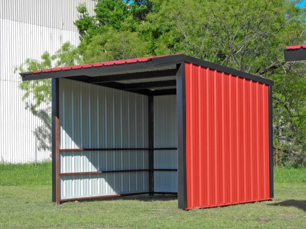 Loafing Shed - 12 x 12 - Click for Pricing