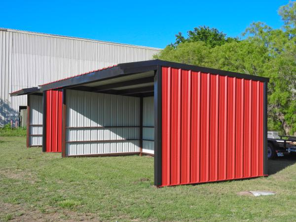 Loafing Shed - 12 x 24 - Click for Pricing