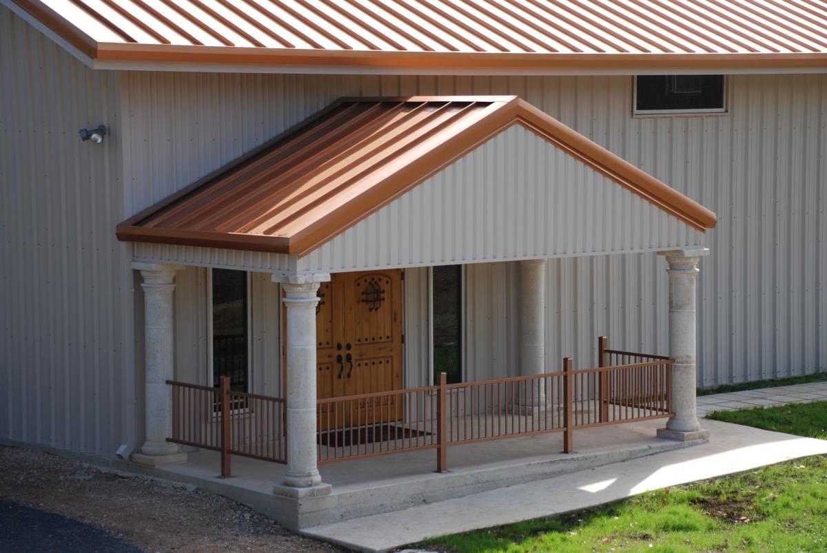 Bright Copper - Mueller Metal Roofing Photo Gallery - Mueller, Inc