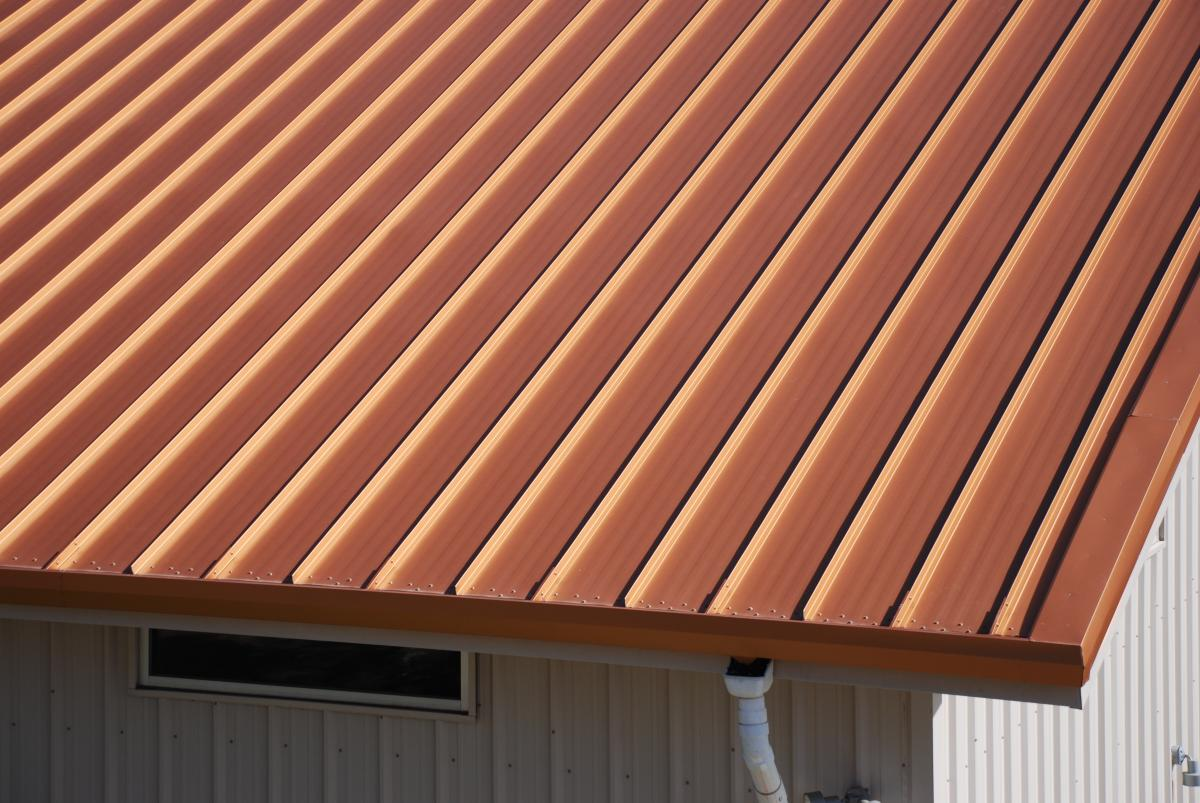 Bright Copper - Mueller Metal Roofing Photo Gallery - Mueller, Inc