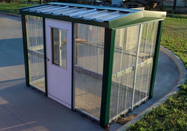 Greenhouse - 6 x 9